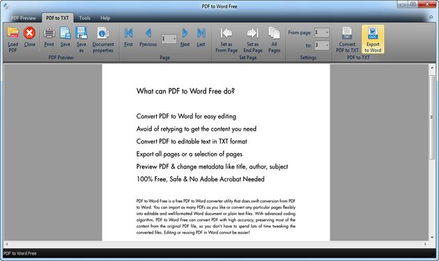 save word document as txt