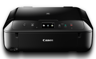 scanning a document on canon printer 6860