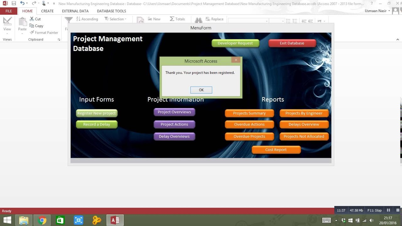 school management system project documentation