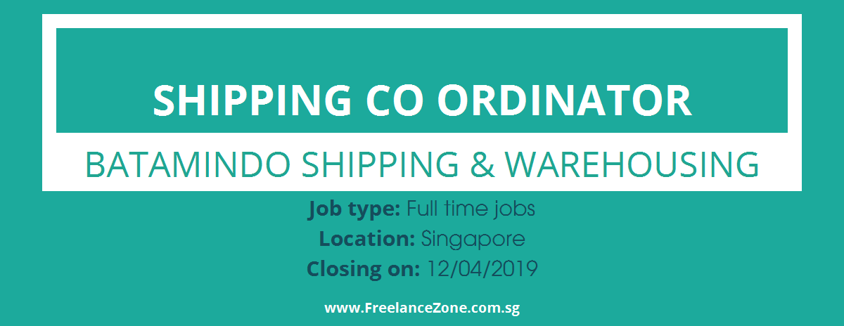 shipping documentation jobs in singapore
