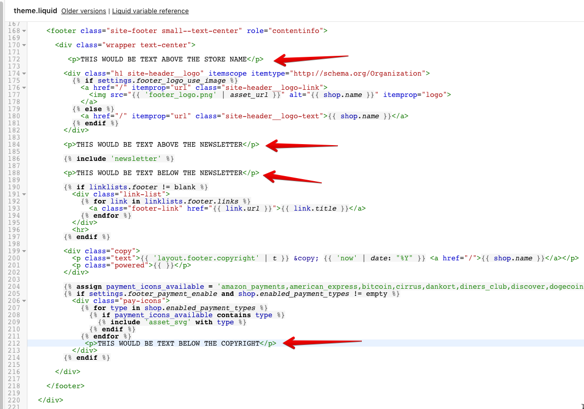 shopify jumpstart theme documentation