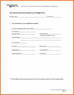 simple loan document between friends
