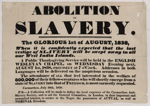 slavery abolition act 1833 document