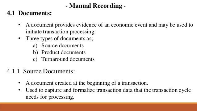 source document that provides evidence of a credit sale