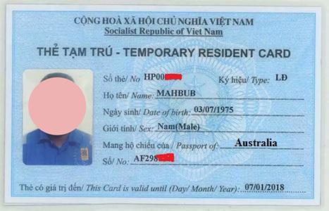 sri lanka australian travel document visa