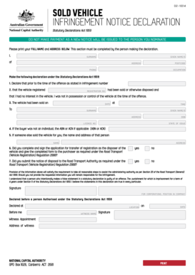 statutory declaration template word document nz