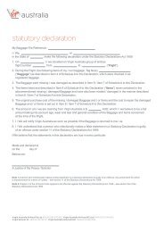 statutory declaration word document victoria