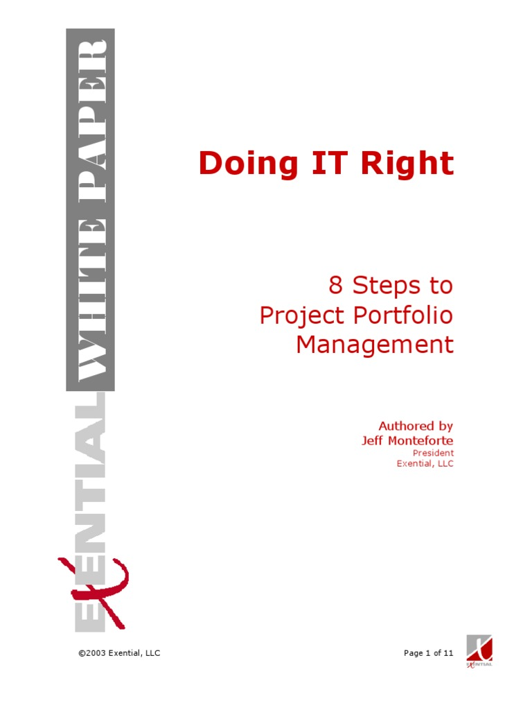 steps on doing a document