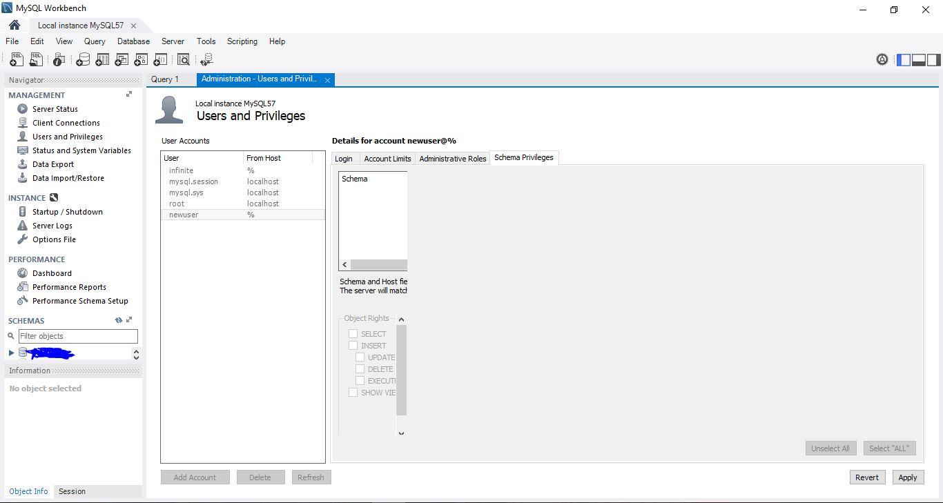 the schema generator did not return a schema document
