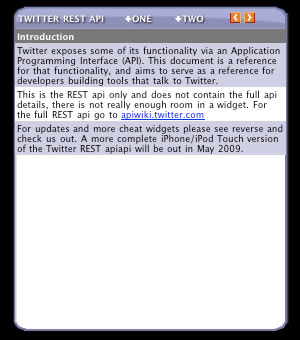 twitter developer api documentation