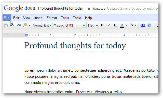upload word document to google docs