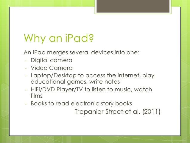 use ipad link to write document