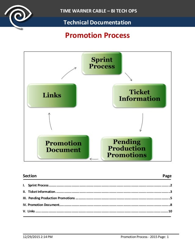 what are technical documentation processes
