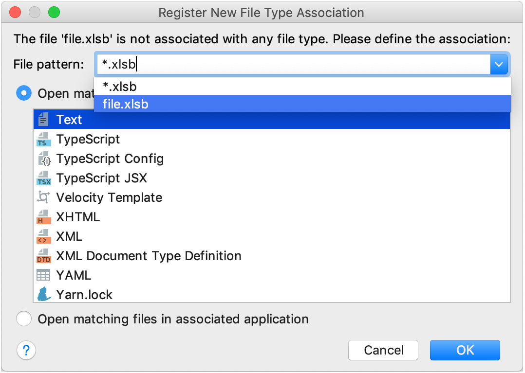 what is document type in html