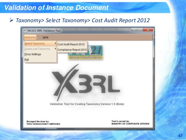 what is xbrl instance document