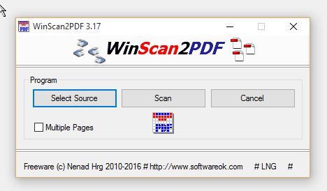 windows 10 scan document to pdf