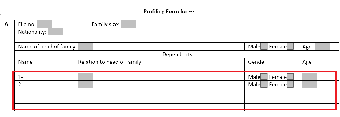 word document checkbox form field