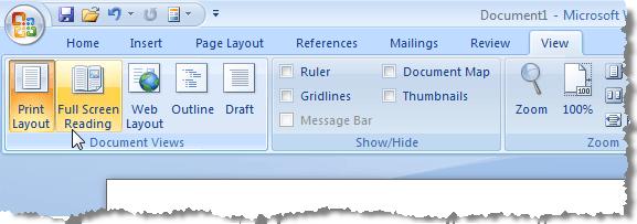 word document frozen on screen